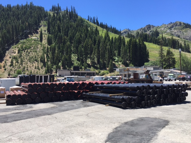 Buttermilk, Camelback and Squaw Valley expand existing TRM pipe systems.